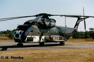 450-04858 CH-53G Heavy Transport Helico