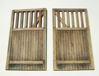 512-PL432 35;Wooden gate - straight 432