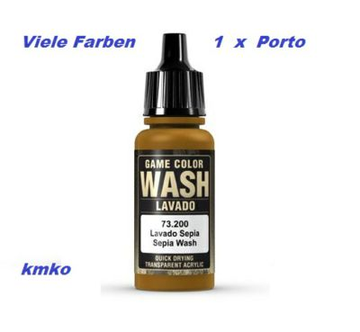 680-73200 Sepia Shade washing 17ml